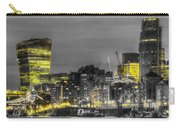 City Of London At Night Carry-all Pouch