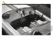 Classic Boat In Black And White Carry-all Pouch
