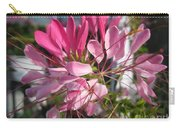 Cleome Named Cherry Queen Carry-all Pouch