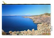 cliff in San Pietro Island Carry-all Pouch