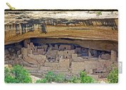 Cliff Palace From Chapin Mesa Top Loop Road In Mesa Verde National Park-colorado Carry-all Pouch