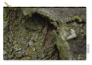 Closeup Of Bark Covered In Lichen Carry-all Pouch
