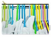Clothes Hangers Carry-all Pouch by Tom Gowanlock