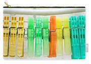 Clothes Pegs Carry-all Pouch