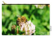 Clover Bee Carry-all Pouch