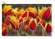Cluisiana Tulips Fractal Carry-all Pouch