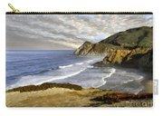 Coastal Beauty Impasto Carry-all Pouch