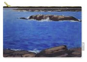 Coastal Waters Of Maine - Art By Bill Tomsa Carry-all Pouch