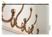 Coat Hooks Carry-all Pouch by Tom Gowanlock