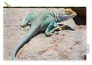 Collard Lizard  Carry-all Pouch