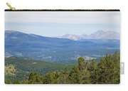 Colorado Continental Divide 5 Part Panorama 5 Carry-all Pouch