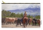 Colorado Cowboy Cattle Drive Carry-all Pouch