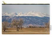 Colorado Front Range Continental Divide Panorama Carry-all Pouch