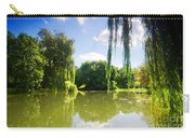 Colorful Autumn Summer Park Carry-all Pouch