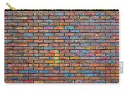 Colorful Brick Wall Texture Carry-all Pouch