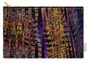 Colorful Computer Generated Abstract Fractal Flame Carry-all Pouch by Keith Webber Jr