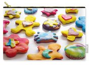 Colorful Cookies Carry-all Pouch by Carlos Caetano
