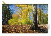 Colorful Fall Autumn Park Carry-all Pouch