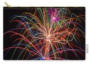 Colorful Fireworks Carry-all Pouch by Garry Gay