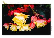 Colorful Flowers Carry-all Pouch by Tom Gowanlock