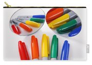 Colorful Markers Carry-all Pouch