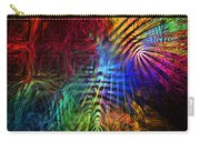 Colorful Psychedelic Abstract Fractal Art Carry-all Pouch