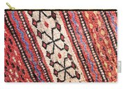 Colorful Rug Carry-all Pouch by Tom Gowanlock