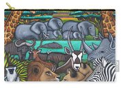 Colours Of Africa Carry-all Pouch