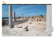 Columns In Archaeological Site Carry-all Pouch