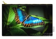 Common Blue Morpho Moth Carry-all Pouch
