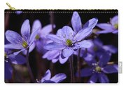 Common Hepatica Carry-all Pouch