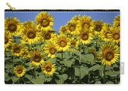 Common Sunflower Flowers Japan Carry-all Pouch