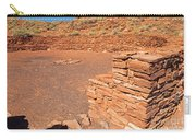Community Room At Wupatki Pueblo In Wupatki National Monument Carry-all Pouch