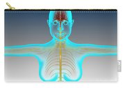 Conceptual Image Of Female Nervous Carry-all Pouch