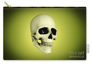 Conceptual View Of Human Skull Carry-all Pouch
