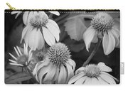 Coneflowers Echinacea Rudbeckia Bw Carry-all Pouch