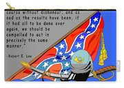 Confederate States Of America Robert E Lee Carry-all Pouch