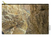 Contrasting Canyon Colors In Big Painted Canyon Trail In Mecca Hills-ca Carry-all Pouch