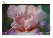 Ruffled Coral Carry-all Pouch