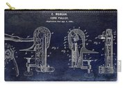 Cork Puller Patent 1899 Carry-all Pouch