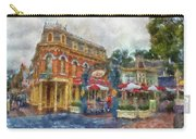Corner Cafe Main Street Disneyland Photo Art 02 Carry-all Pouch