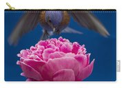 Count Bluebird Carry-all Pouch by Jean Noren