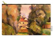 Country House By A River Carry-all Pouch