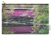 Covered Bridge Along The Wissahickon Creek Carry-all Pouch