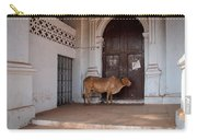 Cow At Church At Colva Carry-all Pouch