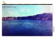 Crater Lake As A Painting Carry-all Pouch