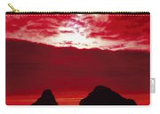 Crimson Sunset Carry-all Pouch