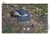 Crowned Crane And Eggs Carry-all Pouch