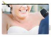 Crying And Laughing Bride Carry-all Pouch