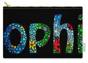 Customized Baby Kids Adults Pets Names - Sophia Name Carry-all Pouch